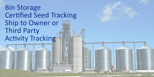 Seed and Grain Storage and certified seed tracking